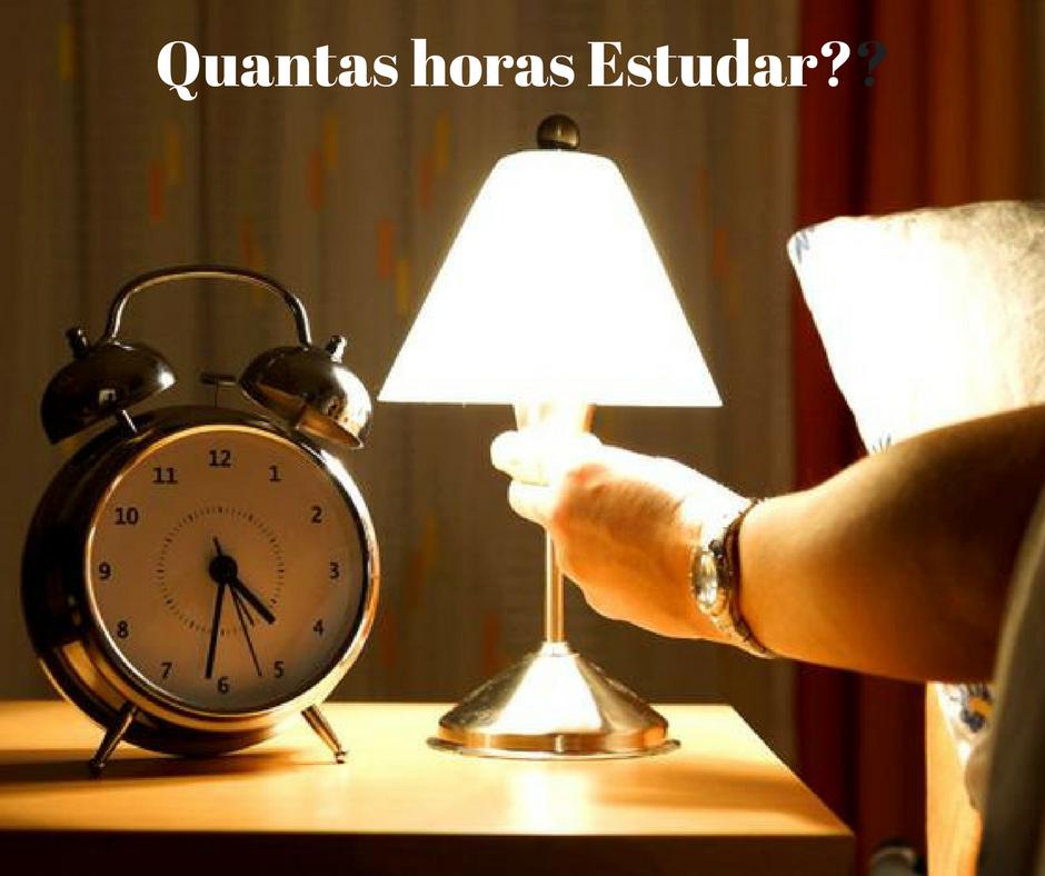 Tempo de Estudo: Quantas Horas Estudar?